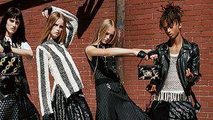 Jaden Smith trägt für Louis Vuitton einen Rock