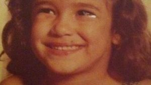 Jana Ina Zarrella als kleines Kind