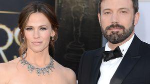 Jennifer Garner und Ben Affleck gucken streng