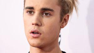Justin Bieber guckt erstaunt