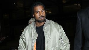 Kanye West lässig