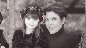 Kendall Jenner mit Mama Kris - Throwback