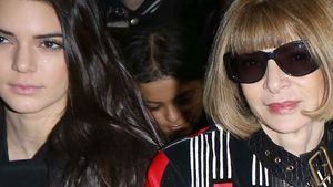 Kendall Jenner und Anna Wintour in Front Row bei NYFW