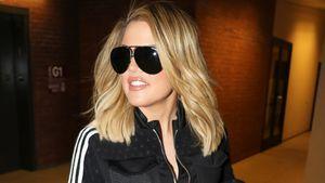 Khloe Kardashian auf dem Weg zum Gym