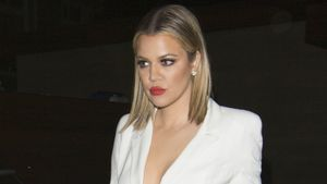 Khloe Kardashian sieht nicht glücklich aus