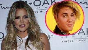 Khloe Kardashian und Justin Bieber Collage