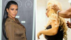 Kim Kardashian und Popo Coco