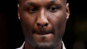 Lamar Odom guck traurig