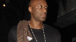 Lamar Odom guckt genervt
