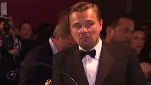 Leonardo DiCaprio ist verblüfft