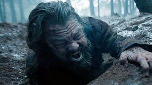 """Leonardo DiCaprio leidend in """"The Revenant"""""""