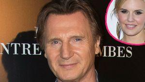 Liam Neeson und Maggie Grace