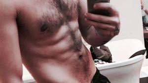 Liam Payne ohne Shirt