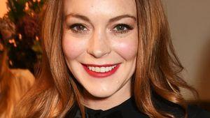 Lindsay Lohan strahlt