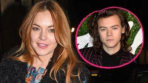 Lindsay Lohan und Harry Styles Collage