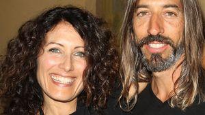 Lisa Edelstein und ihr Mann Robert Russell