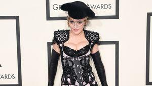 Madonna auf dem Grammy-Teppich
