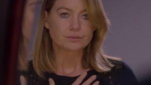 Meredith Grey atmet tief durch