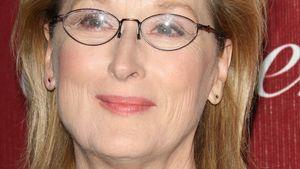 Meryl Streep mit Glitzer-Pulli