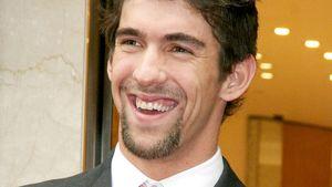 Michael Phelps reibt sich die Hände