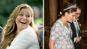 Prinzessin Madeleine, Prinzessin Victoria und Prinz Daniel