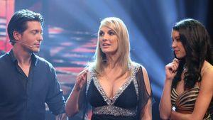 Rebecca Mir und Sebastian Deyle mit Britt Hagedron