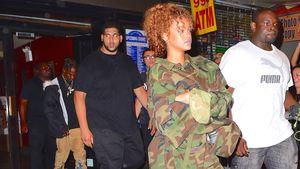 Rihanna und Travis Scott kommen gemeinsam von einem Konzert