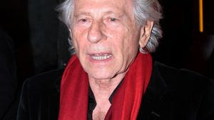 Roman Polanski mit rotem Schal
