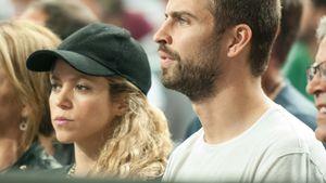 Shakira und Gerard Piqué gucken ernst