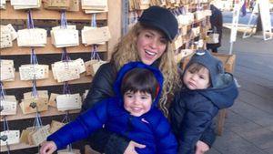 Shakira und ihre Söhne