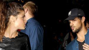 Taylor Lautners Freundin Marie guckt genervt