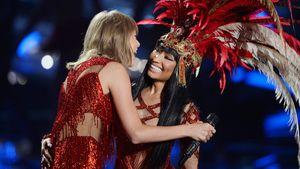 Taylor Swift und Nicki Minaj umarmen sich