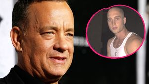 Tom Hanks und sein Sohn Chet Collage