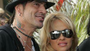 Tommy Lee mit Pamela Anderson