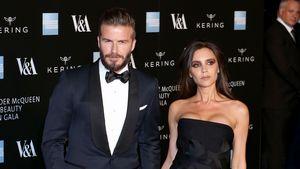 Victoria Beckham mit David Beckham