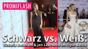 Victoria Beckham und Jennifer Lawrence