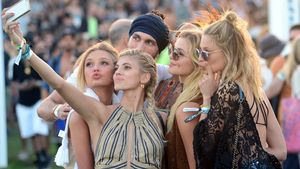 Victoria's Secret-Girls beim Coachella