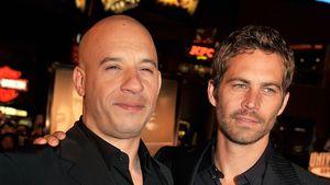 Vin Diesel und Paul Walker lässig elegant