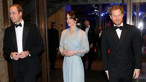 "William, Kate und Harry bei der ""Spectre""-Premiere"