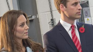 William und Kate sehen angestrengt aus