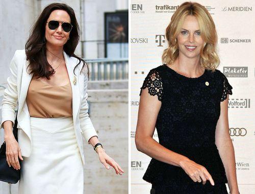 Angelina Jolie und Charlize Theron sollen jetzt Freundinnen geworden sein