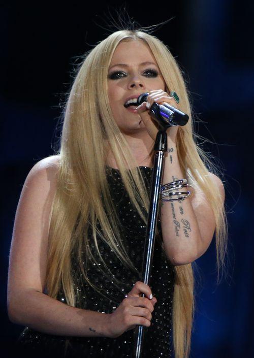 Avril Lavigne steht endlich wieder auf der Bühne
