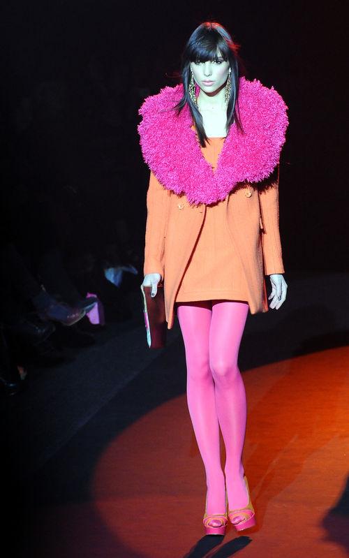 Betsey Johnson buchte Lisa-Marie für eine Modenschau in Paris