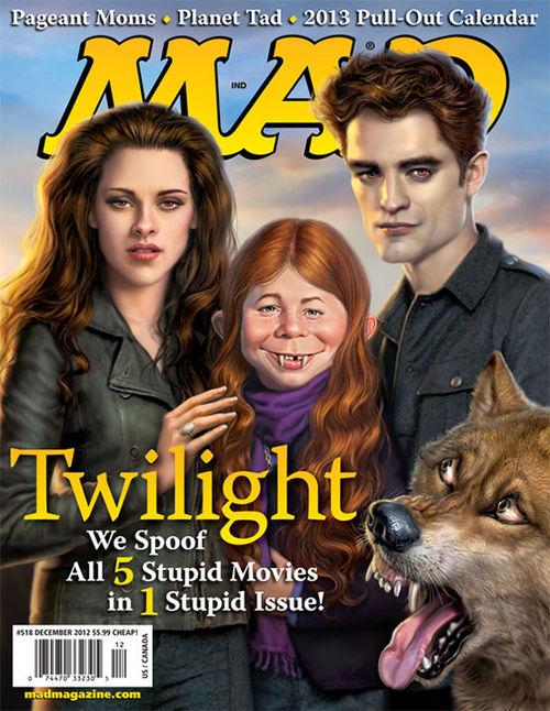 """Das aktuelle """"MAD""""-Cover wirkt auf dem ersten Blick sehr wohlwollend"""