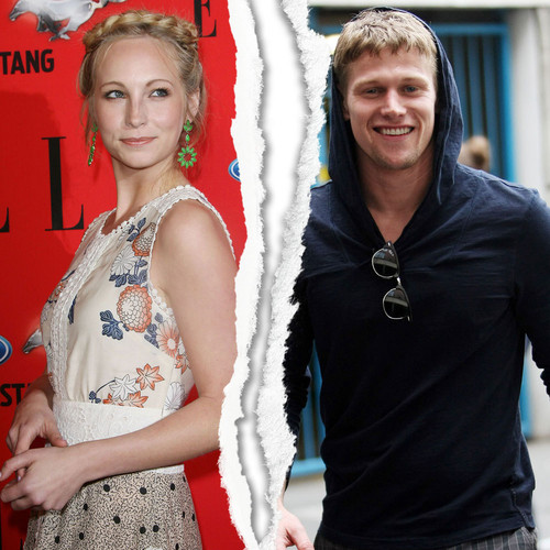 Zachary Roerig who plays Matt, he's just by Candice Accola ...