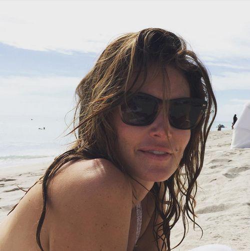 Vor Kurzem war Rande Gerber mit seiner Frau am Strand