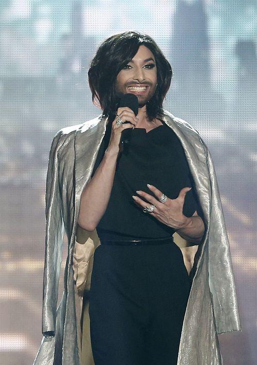 Conchita Wurst wurde während des ESC 2015 vom österreichischen Fernsehen ausgeblendet