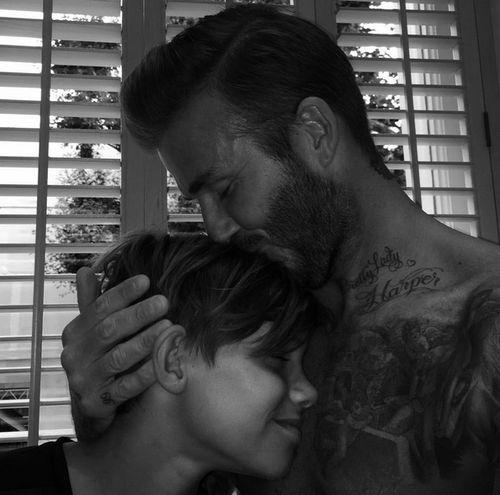 David Beckham gratuliert seinem Sohn Romeo mit einem ganz besonderen Foto