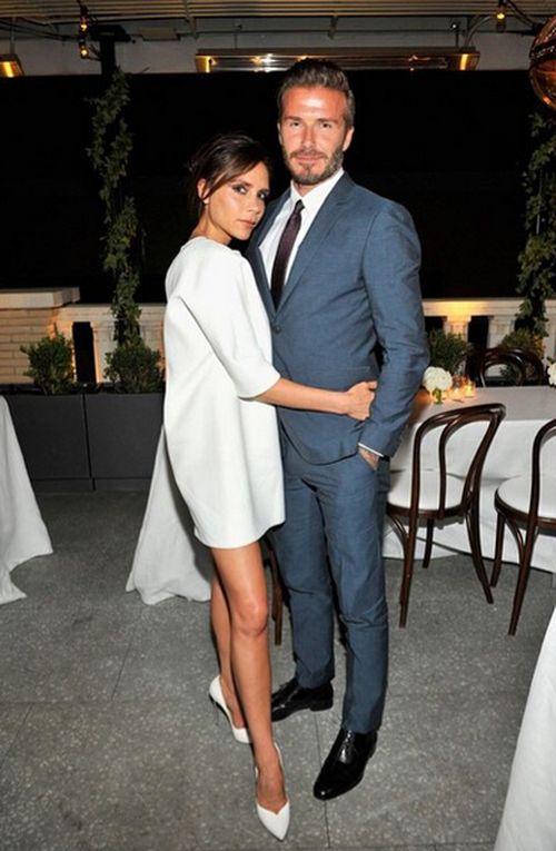 David und Victoria Beckham sind echt stylish