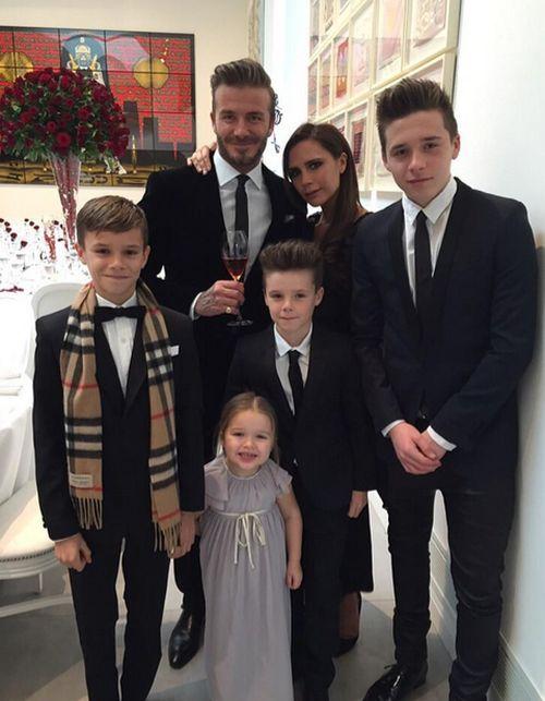 Die Beckhams scheinen glücklicher denn je